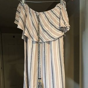 Off the shoulder sundress